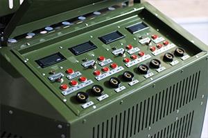 Панель управления зарядно-разрядными модулями