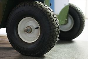 Колеса для перемещения пуско-зарядного устройства ППЗУ-4К