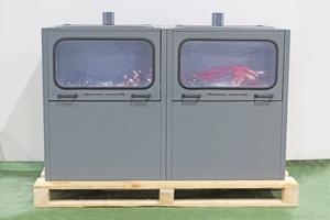 Металлический шкаф (стеллаж) для заряда аккумуляторов