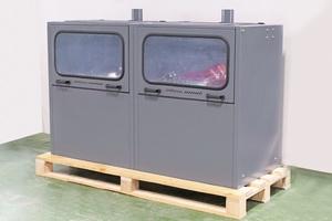 Общий вид зарядного шкафа для АКБ в закрытом виде