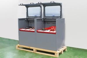 Шкаф модульный для одновременной зарядки 6 АКБ