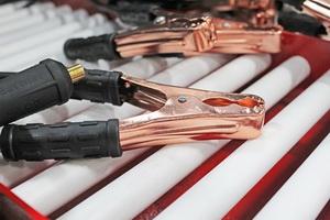 Пуско-зарядные провода для подключения к АКБ фото