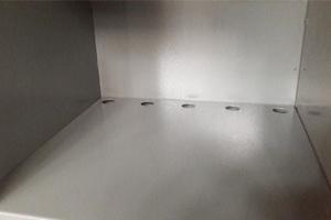 Фото металлической полки шкафа ШМА-01-02