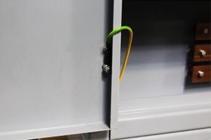 Фотография провода заземления