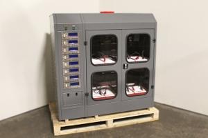 Фото шкафа для заряда Светоч-02-08.ЖКИ
