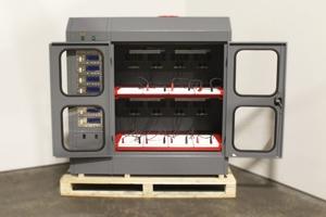 Шкаф для заряда Светоч-02-08 в открытом виде