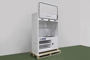 Вытяжной шкаф лабораторный с мойкой фото