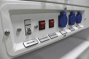 Фото панели управления лабораторным шкафом