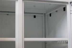 Фото механизма крепления боковых стенок шкафа КРОН.ШМА-02.2000