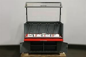 Фото зарядного шкафа серии светоч-01 вид спереди