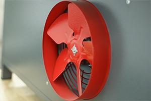 Фото вентилятор системы охлаждения шкафа