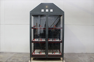 Шкаф для хранения 12 аккумуляторных батарей Светоч-03-12