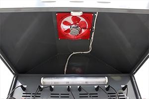 Вытяжной вентилятор установленный вверху шкафа Светоч-03-12