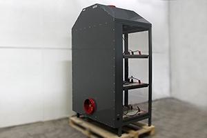 Шкаф светоч-03-12 вид сзади, место расположения приточно вытяжного вентилятора