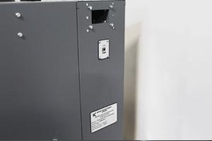 Торцевая часть шкафа для заряда Светоч-04-02