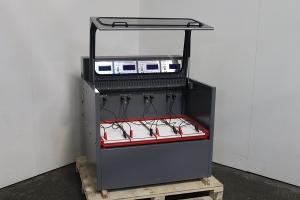 Прозрачная крышка зарядно-разрядного шкафа Светоч