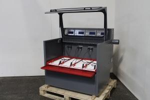 Зарядно-разрядный шкаф в открытом положении