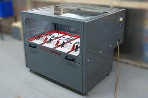 Авиационный зарядно-разрядый шкаф серии Светоч-Авиа-04 вид сбоку