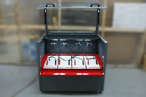 Зарядный шкаф СВЕТОЧ-А в открытом положении