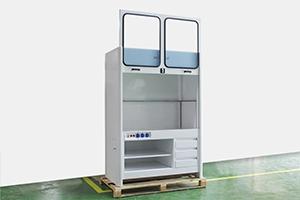 Лабораторный шкаф ШВ-003 в открытом виде