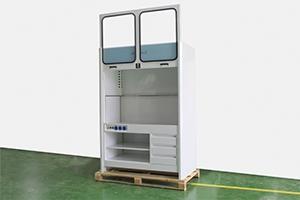 Шкаф лабораторный с ящиками фото