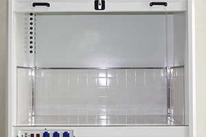 Рабочее пространство лабораторного шкафа