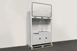Лабораторный вытяжной шкаф в открытом виде