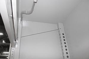 Фото троса с противовесом для подъема панорамной дверцы
