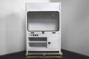Шкаф вытяжной 4АКБ-ЮГ-ШВМ-001 вид спереди