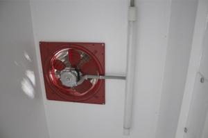 Фото внутренней вентиляции шкафа серии ШВМ