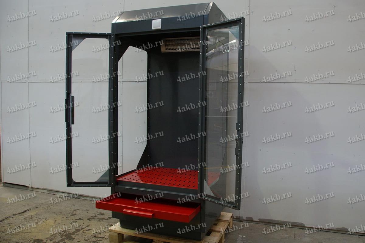Шкаф вытяжной для приготовления и хранения кислот и электролита УКС.ШВК-01