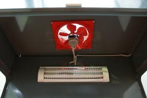 Вытяжной вентилятор на вытяжном шкафу УКС.ШВК-02