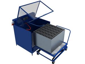 Шкаф для зарядки тяговых аккумуляторных батарей электропогрузчиков, электрокаров и другого транспорта