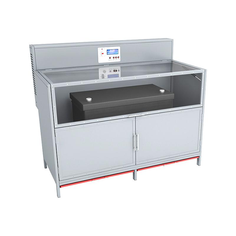 Шкаф для заряда аккумуляторных батарей со встроенным зарядно разрядным модулем