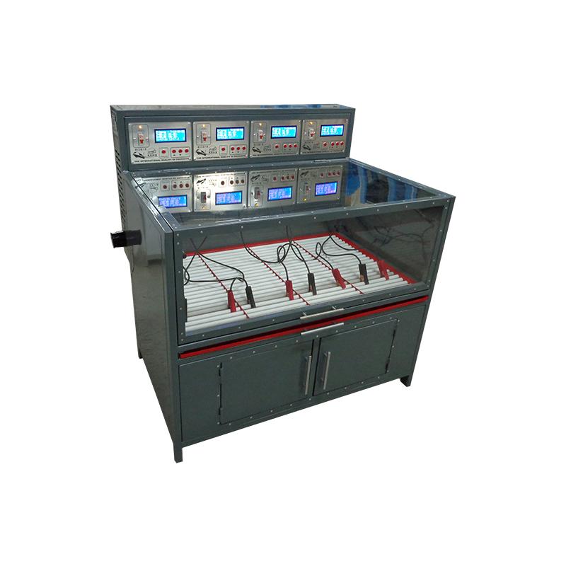 Зарядный шкаф для аккумуляторных батарей вид сбоку