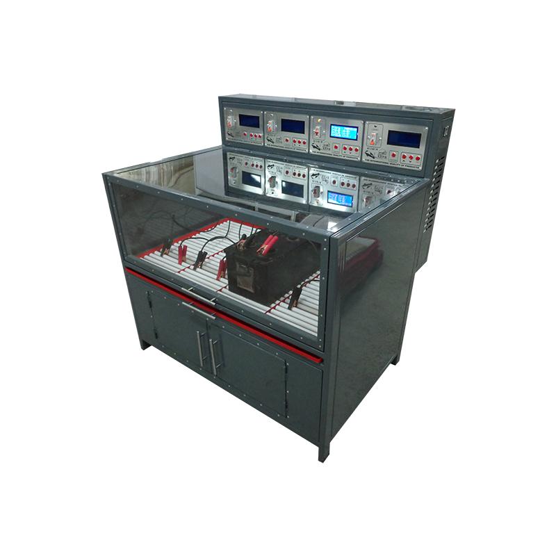 Шкаф для заряда аккумуляторных батарей вид сбоку