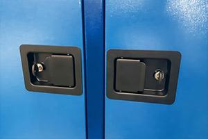 Замки установленные на шкаф серии ШМА-03К