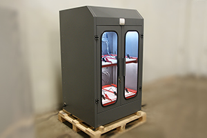 Фото двухъярусного шкафа серии Светоч-02-06