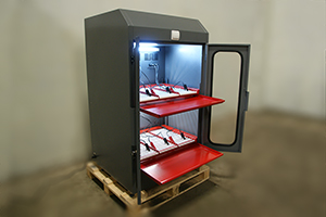 Фото шкафа серии Светоч-02-06 в открытом виде