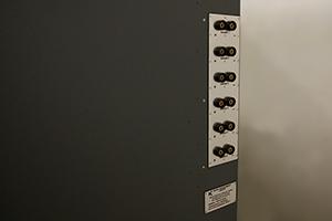 Фото панели клеммных колодок шкафа серии Светоч-02-06