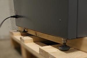 Фото подключения питания к шкафу серии Светоч-02-06