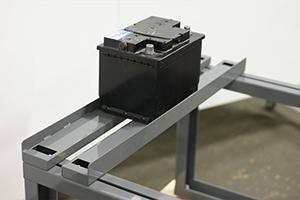 Фотографии однорядного сборно-разборного аккумуляторного стеллажа 4АКБ-ЮГ-АКС-2.800