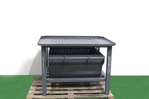 Фото стола для слива жидкости из аккумулятора