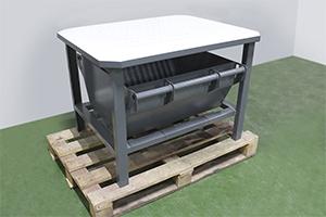 Фото стола для слива электролита из АКБ УКС.ССА-001