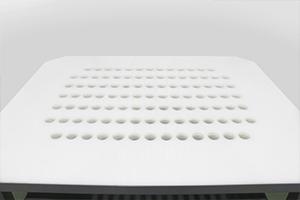 Специальная перфорация для слива электролита на столешнице