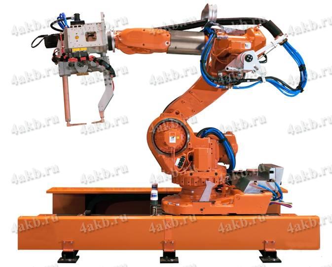 Автоматизированная линия сварочных роботов
