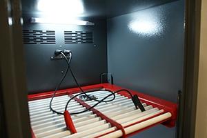 Роликовая решетка для установки аккумуляторных батарей