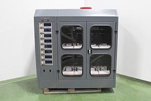 Шкаф с экраном для хранения и заряда щелочных АКБ