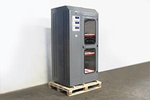 Фото трехъярусного шкафа для заряда аккумуляторов Cветоч 03-03.ЖК