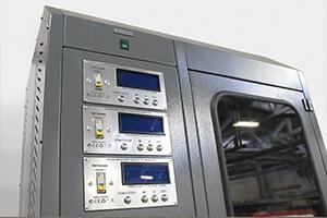 Фото панели для управления зарядкой аккумуляторов